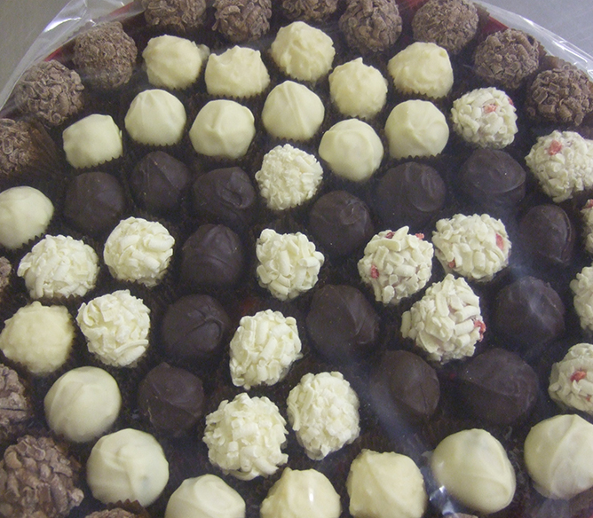 Delicious Norfolk Truffles - A Chocolate Lover's Dream!